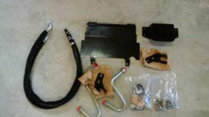 Front Hitch Saddle Suspension Kit for CaseIH Magnum 235-340 iT4a