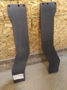 Siderail reinforcement kit for Massey Ferguson 7619-7626