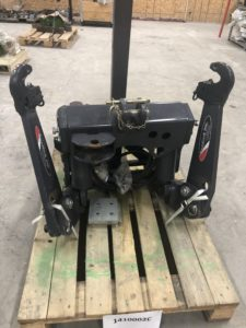 Zuidberg Front 3-point hitch and PTO for Kubota M100GX-M110GX