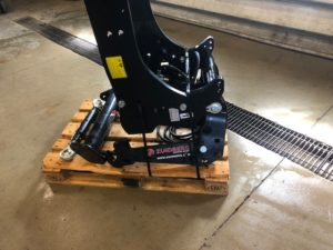 Zuidberg Front 3-point hitch with HDAK for Puma 125-175 or NH T7.170-225