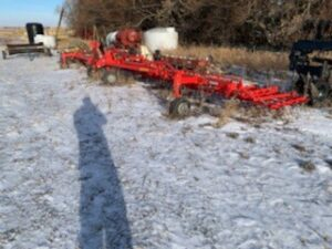 Einbock 12m Aerostar Tined Weeder with 7/490m Tines