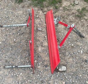 8 sets of Einbock Plate Shields (crop protection)