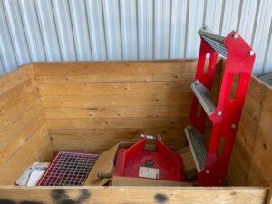 Einbock Seedbox Mounting Kit for Aerostar 9m & 12m Exact